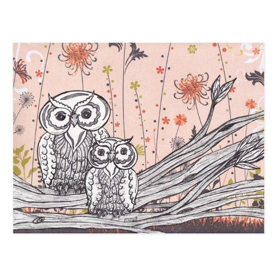 Owls 15 Postcards