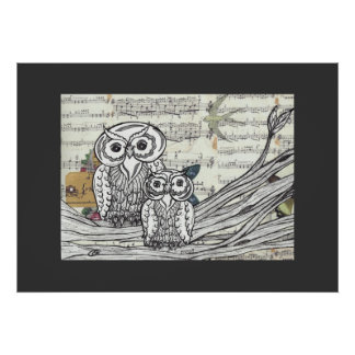 Owls 22 Print