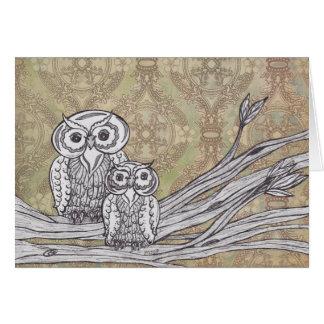 Owls 32 card