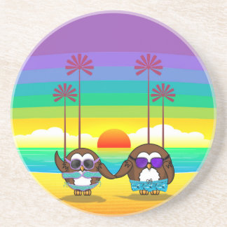 owls are back to vacations! coaster