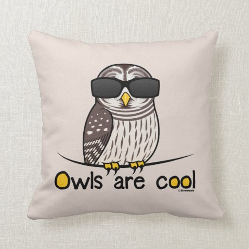 Owls Are Cool Zazzle