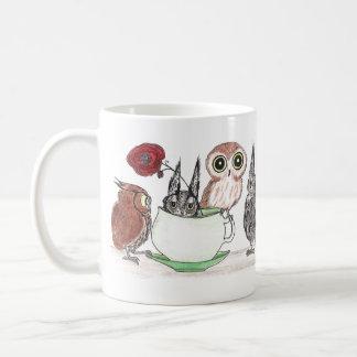 Owls at Teatime - Mug