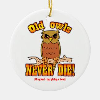 Owls Christmas Ornaments