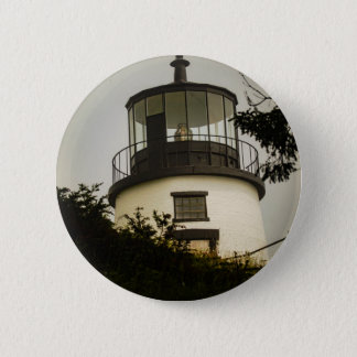 Owls Head Lighthouse 6 Cm Round Badge