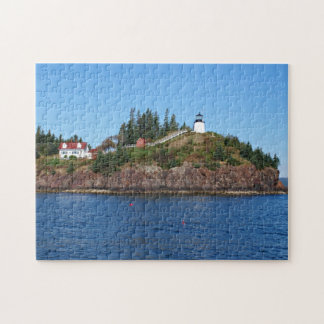 Owls Head Lighthouse, Penobscot Bay Maine Jigsaw Puzzle