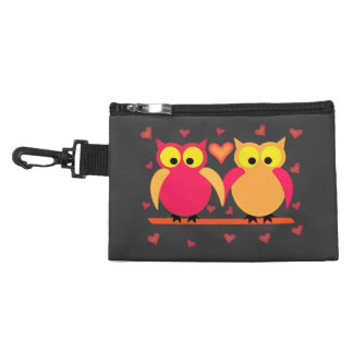 Owls in Love Accessory Bag