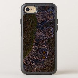 Owls in the Oak Hollow OtterBox Symmetry iPhone 8/7 Case