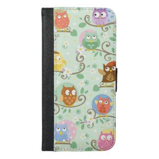 Owls Iphone 6/6S Plus Wallet Case