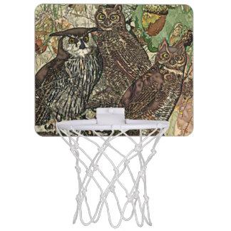 Owls  Mini Basketball Goal Mini Basketball Hoop