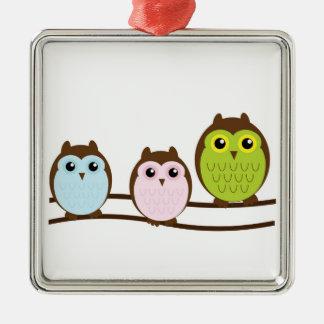 Owls Ornament