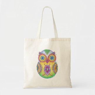 'Owlushka' Blossom Tote Bag