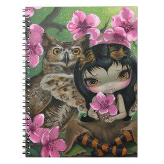 """Owlyn in the Springtime"" Notebook"