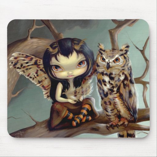 """""""Owlyn"""" Mousepad"""