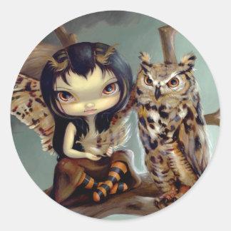 """Owlyn"" Sticker"