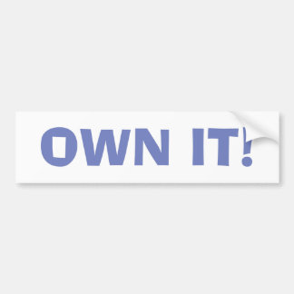 Own It! Sticker