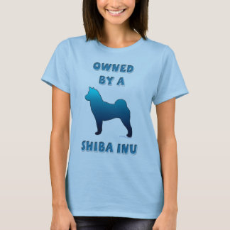 Owned by a Shiba Inu T-Shirt