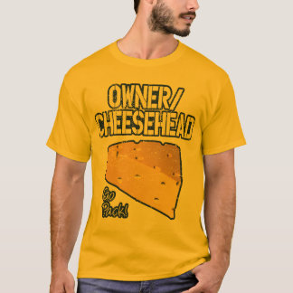 Owner/Cheesehead T-shirt (Distressed)