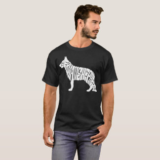Owner German Shepherd T-Shirt