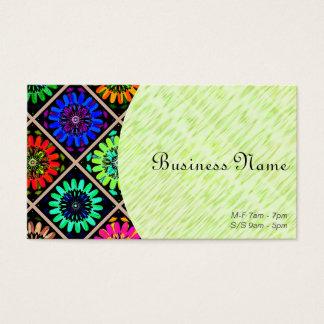 Owner or Employee I/ U-pick Color/ Radiant Flowers Business Card