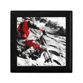 Owning The Mountain  -  Motocross Dirt-Bike Racer Gift Box