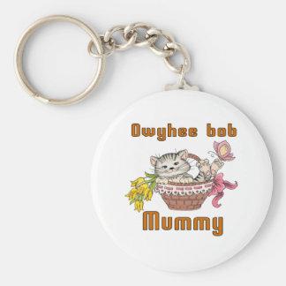 Owyhee bob Cat Mom Key Ring