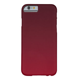 Oxblood Ombre Barely There iPhone 6 Case