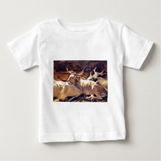 Oxen in Repose by John Singer Sargent Baby T-Shirt