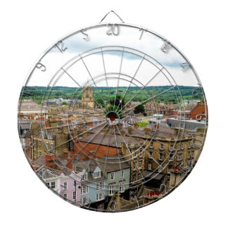 Oxford City Skyline Dartboard
