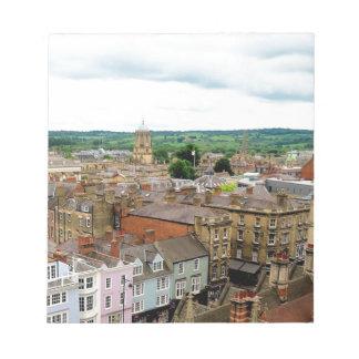 Oxford City Skyline Notepad