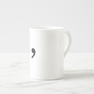 Oxford Comma Coffee Cup