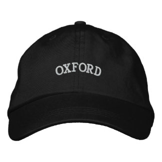 OXFORD EMBROIDERED HAT