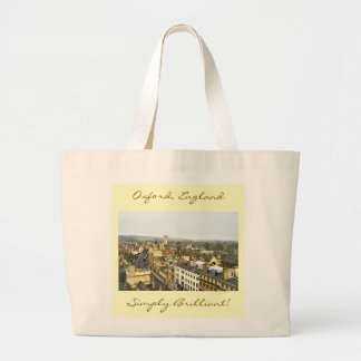 Oxford, England, High St View, Simply Brilliant Large Tote Bag