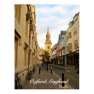 Oxford, England Postcard