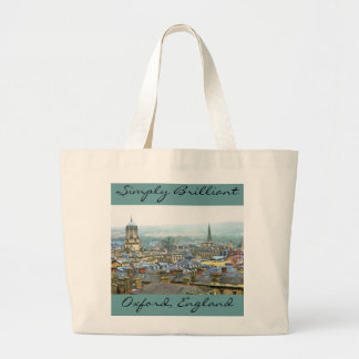 Oxford, England, Roof Tops, Simply Brilliant Large Tote Bag