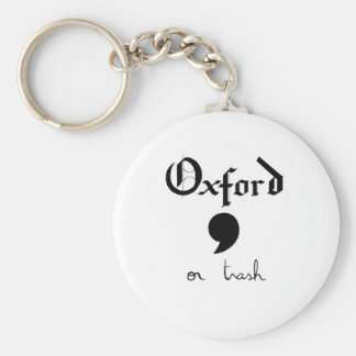 Oxford or Trash Key Ring