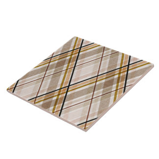 Oxford Plaid Ceramic Tile