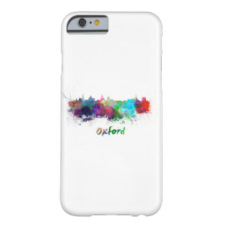 Oxford skyline in watercolor barely there iPhone 6 case
