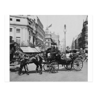 Oxford Street London 1904, England U.K. Postcard