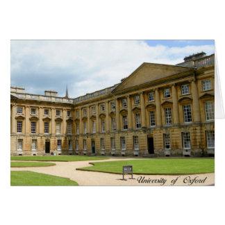 Oxford University greeting catd Card