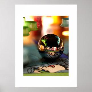 OXO ball pinball poster