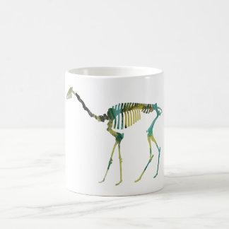 oxydactylus skeleton coffee mug