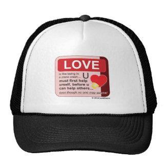 Oxygen Mask Mesh Hat