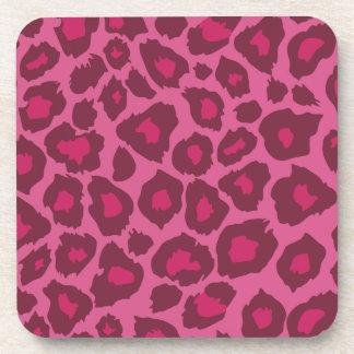 Oxygentees Leopard Print Cork Coasters
