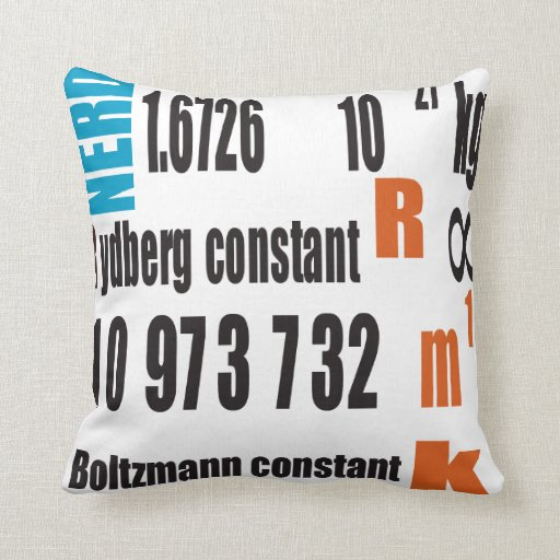Oxygentees Periodic Table American MoJo Pillow