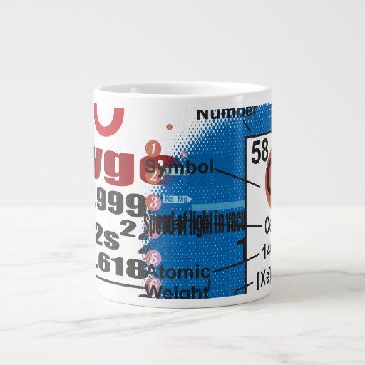 Oxygentees Periodic Table Jumbo Mug