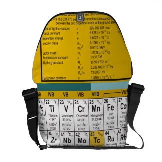 Oxygentees Periodic Table Courier Bag