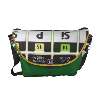 Oxygentees Periodic Table Rickshaw Bag Messenger Bag