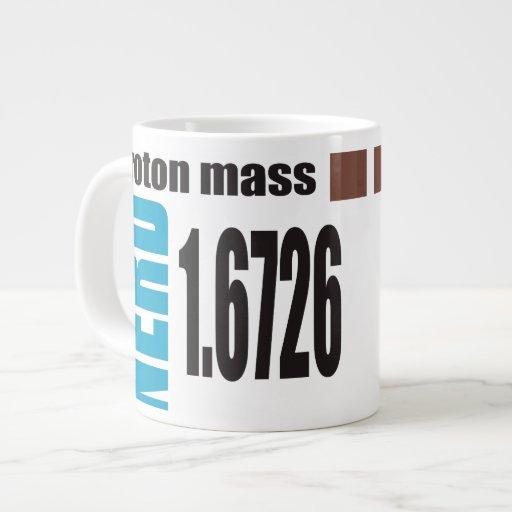 Oxygentees Proton Mass Periodic Table Jumbo Mugs