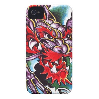 Oxygentees Skull Fire iPhone 4 Cases