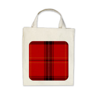 Oxygentees Tartan Red Plaid Tote Bags